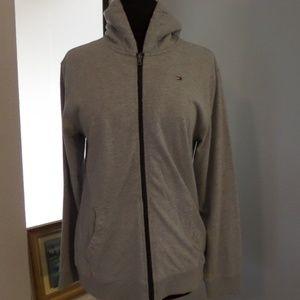 Tommy Hilfiger Solid Hoodie Sweatshirt Size XL